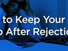 How to Keep Your Chin Up In the Face of Rejection