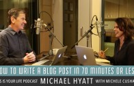 How to Get Faster At Writing Blog Posts from Michael Hyatt